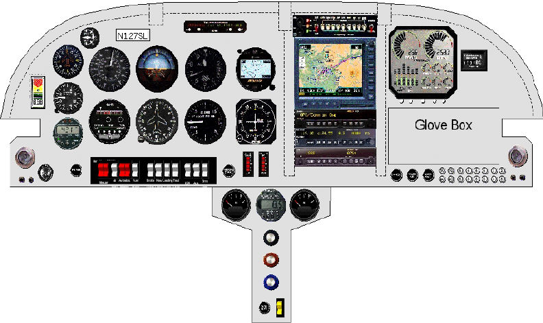 RV6A Instrument Panel