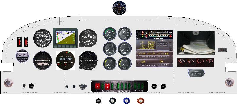 RV6A Instrument Panel